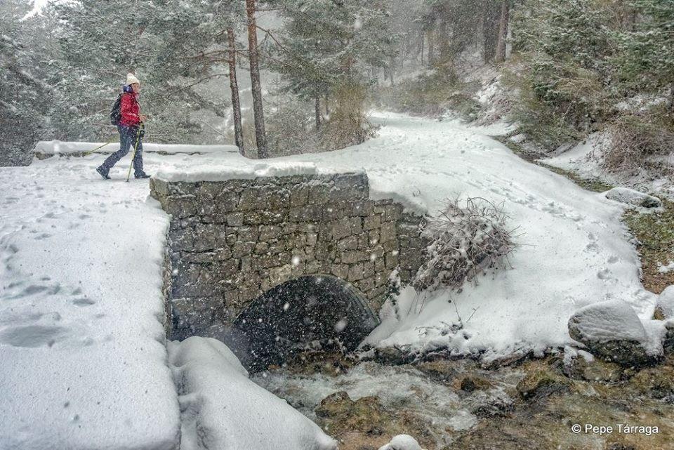La imagen puede contener: nieve, exterior, naturaleza y agua