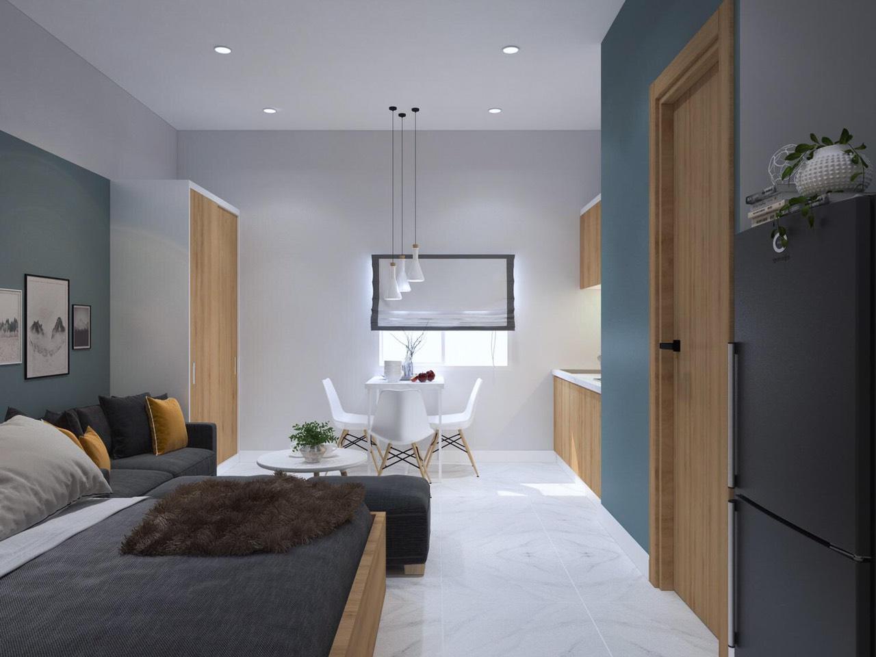 Phong cách thiết kế nội thất theo xu hướng phương Tây của Stella Bình Tân