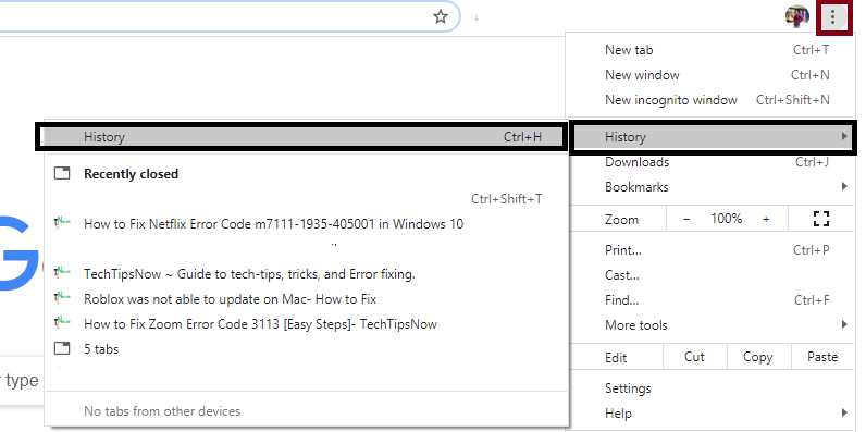 Clear Cache Files from Chrome Browser