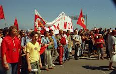 Anti-G7 Demonstration in Genua 2001.