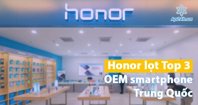 Honor đánh bại cả Xiaomi và Apple