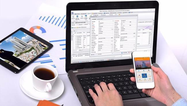 Phần mềm quản lý kinh doanh bất động sản