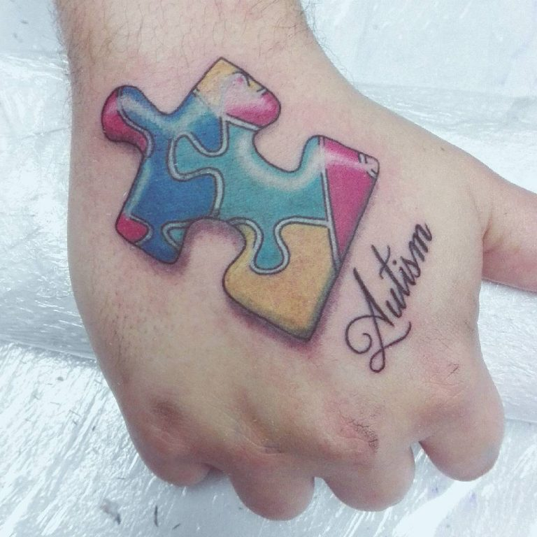 tattoos about autism