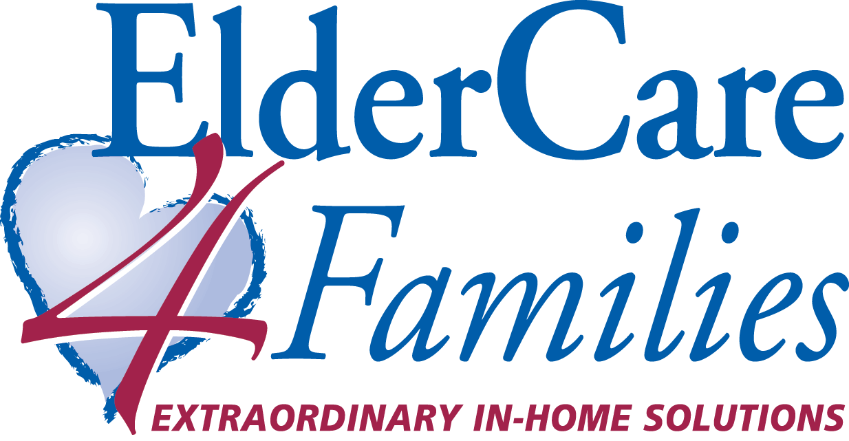 "Eldercare Families logo large with tagline ""Extraordinary In-Home Solutions"""