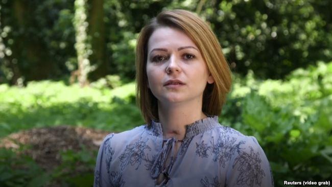 Кадр из видеообращения Юлии Скрипаль после выписки из больницы