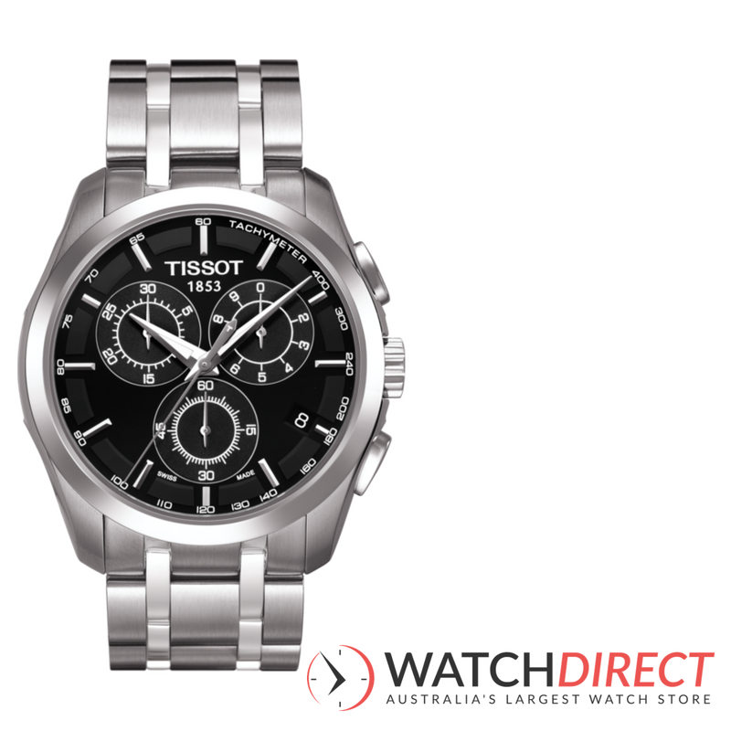 Tissot Chrono Couturier Men's Watch.
