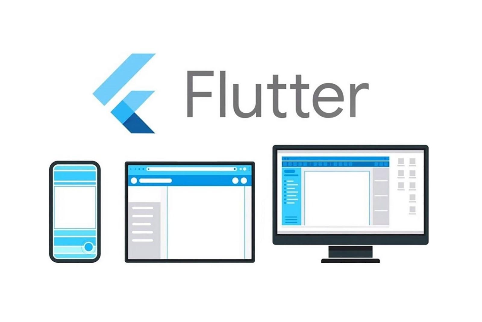 Flutter cross-platform app frameworks