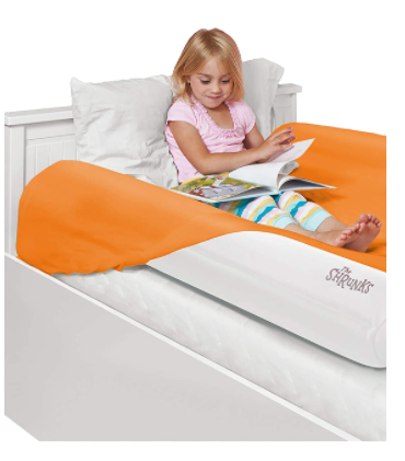 Toddler bed rails for travel-The Shrunk Inflatable Kids Bed Rails
