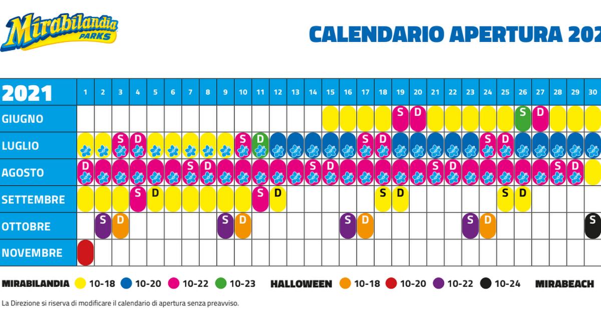 Calendario Mirabilandia.Calendario Mirabilandia 2019 Pdf Google Drive