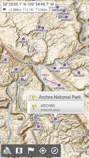 AlpineQuest GPS Hiking- screenshot thumbnail