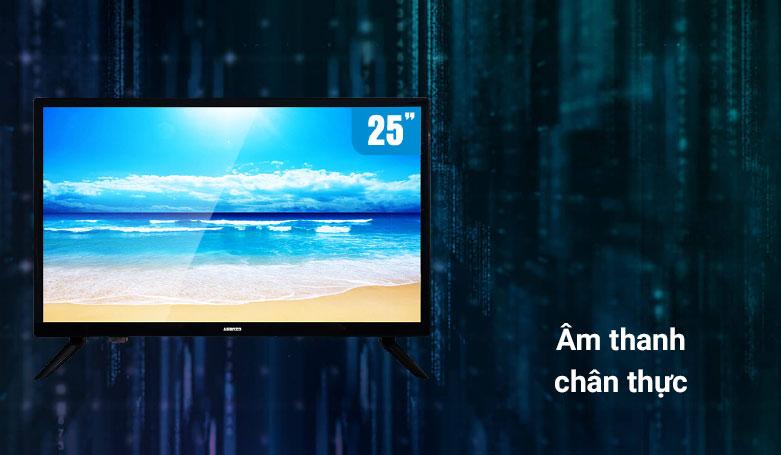 TIVI LED ASANZO 25 Inch 25S200T2   Âm thanh chân thực