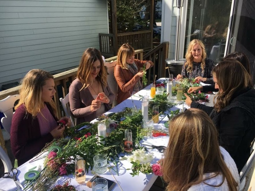 atlanta bridal shower ideas