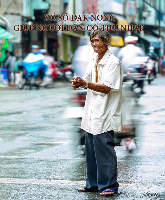Ý nghĩa của xổ số Dak Nong đem đến việc làm cho người khó khăn