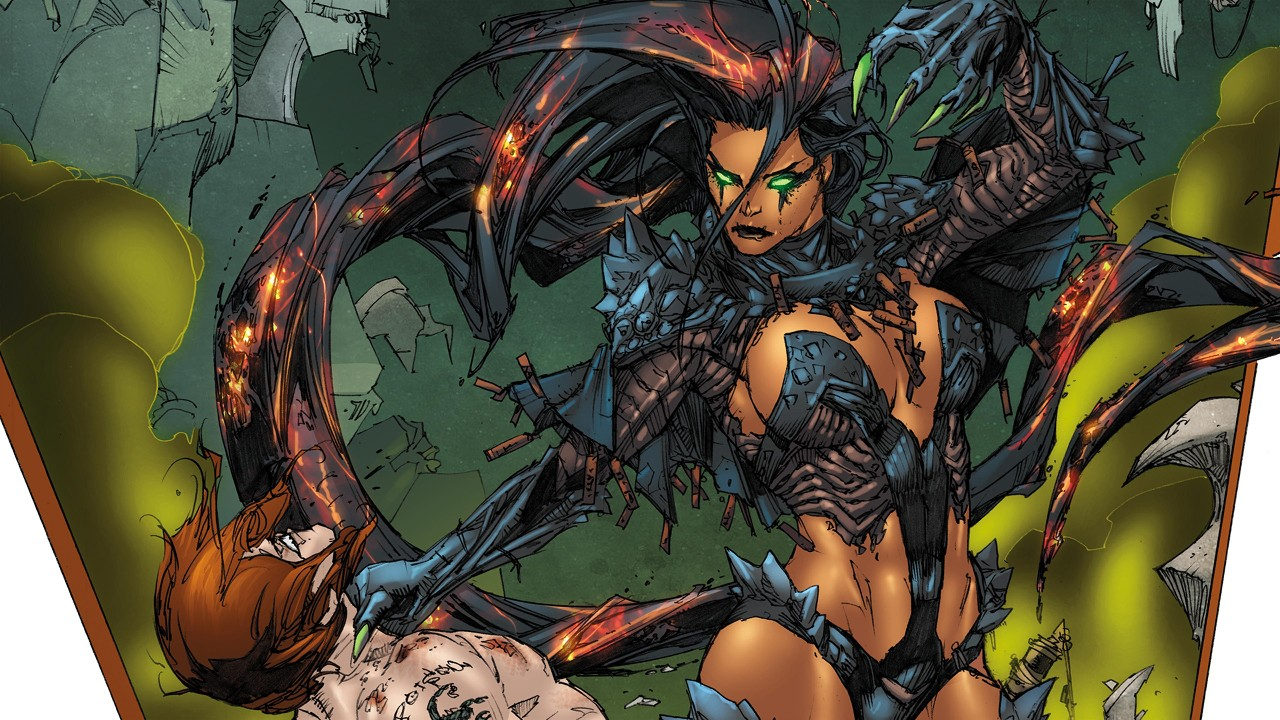 Blackfire - one of the most remarkable black female villains in the DC universe
