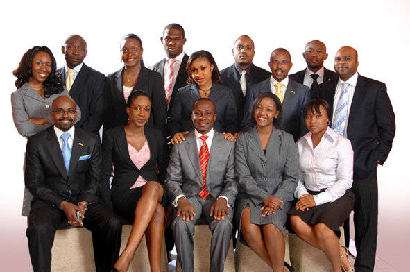 The participants of The Apprentice Africa.