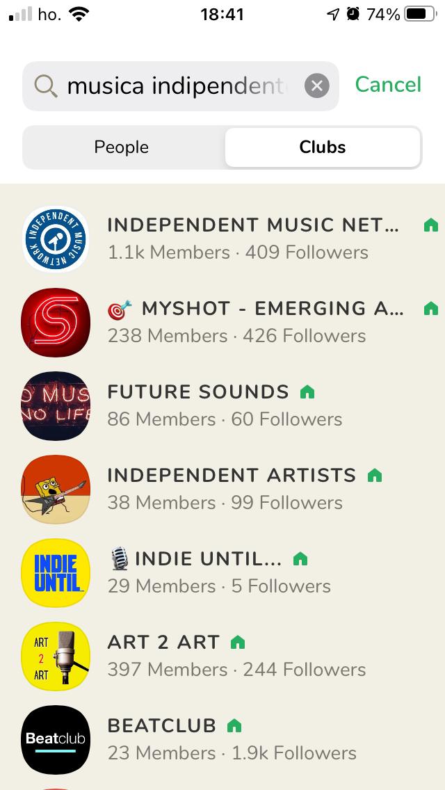Come Promuovere Musica Su Clubhouse - I club di musica indipendente.
