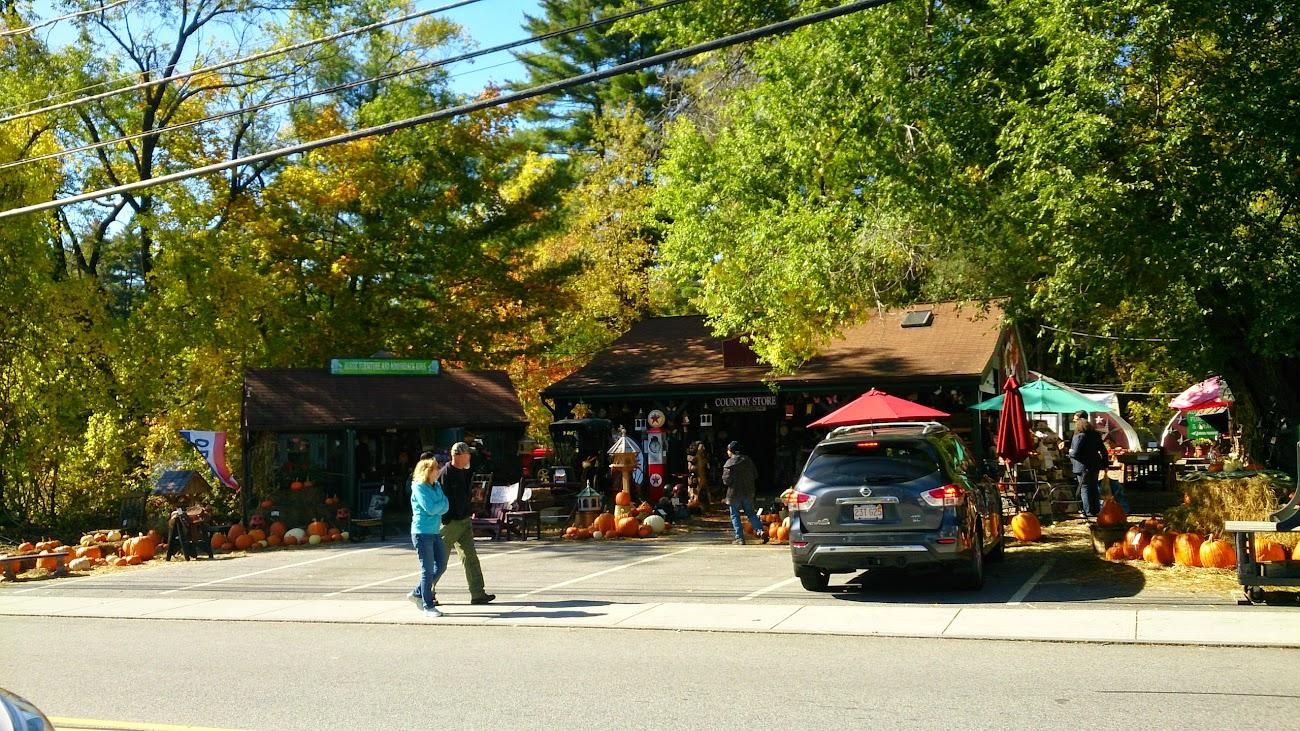 街上的農產及Gift Shop