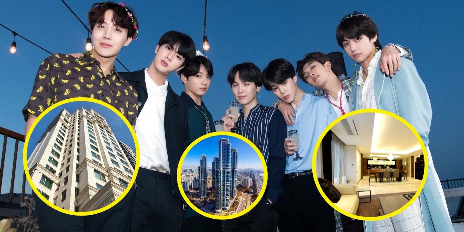 Nhà riêng của BTS như thế nào?