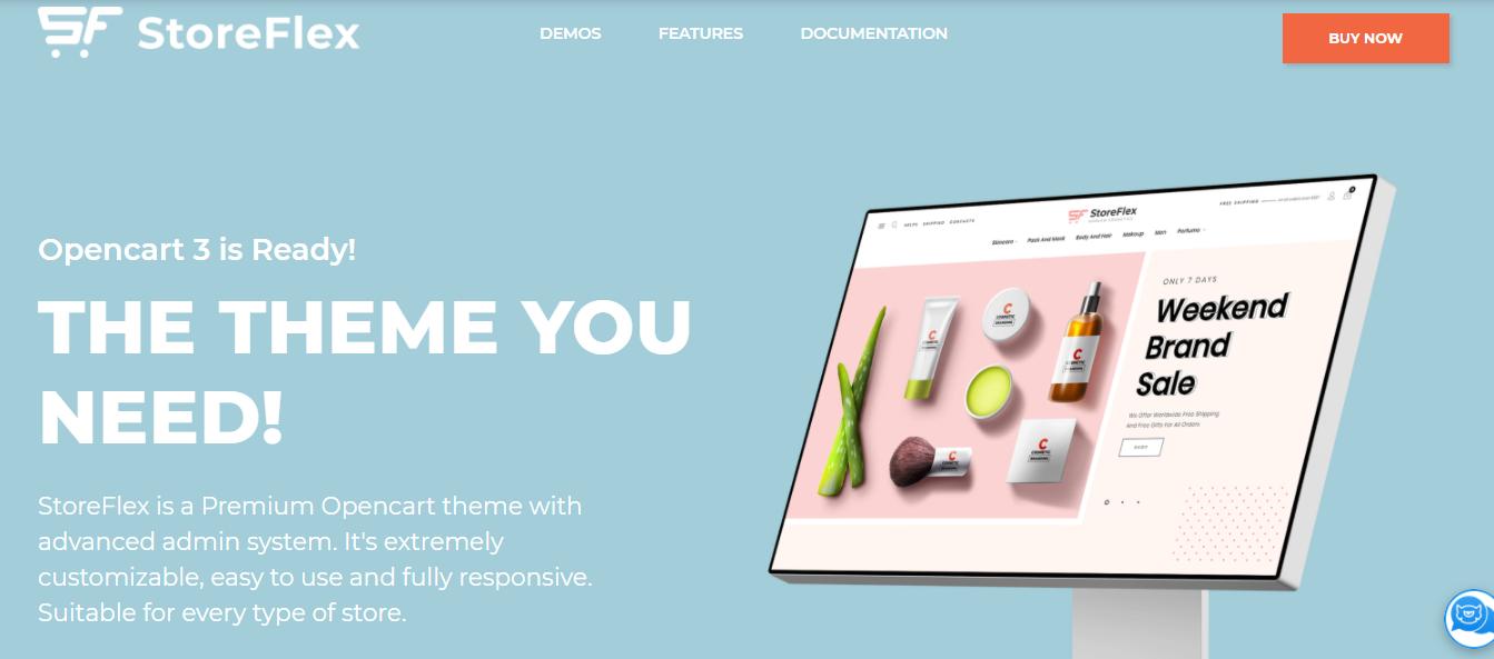 StoreFlex - Opencart ecommerce themes