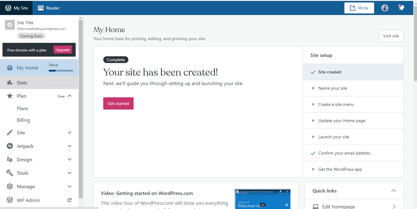 How to use WordPress website builder