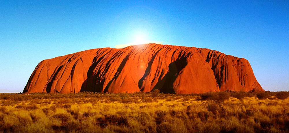 Uluru, the largest monolith in the world, not a customer cohort