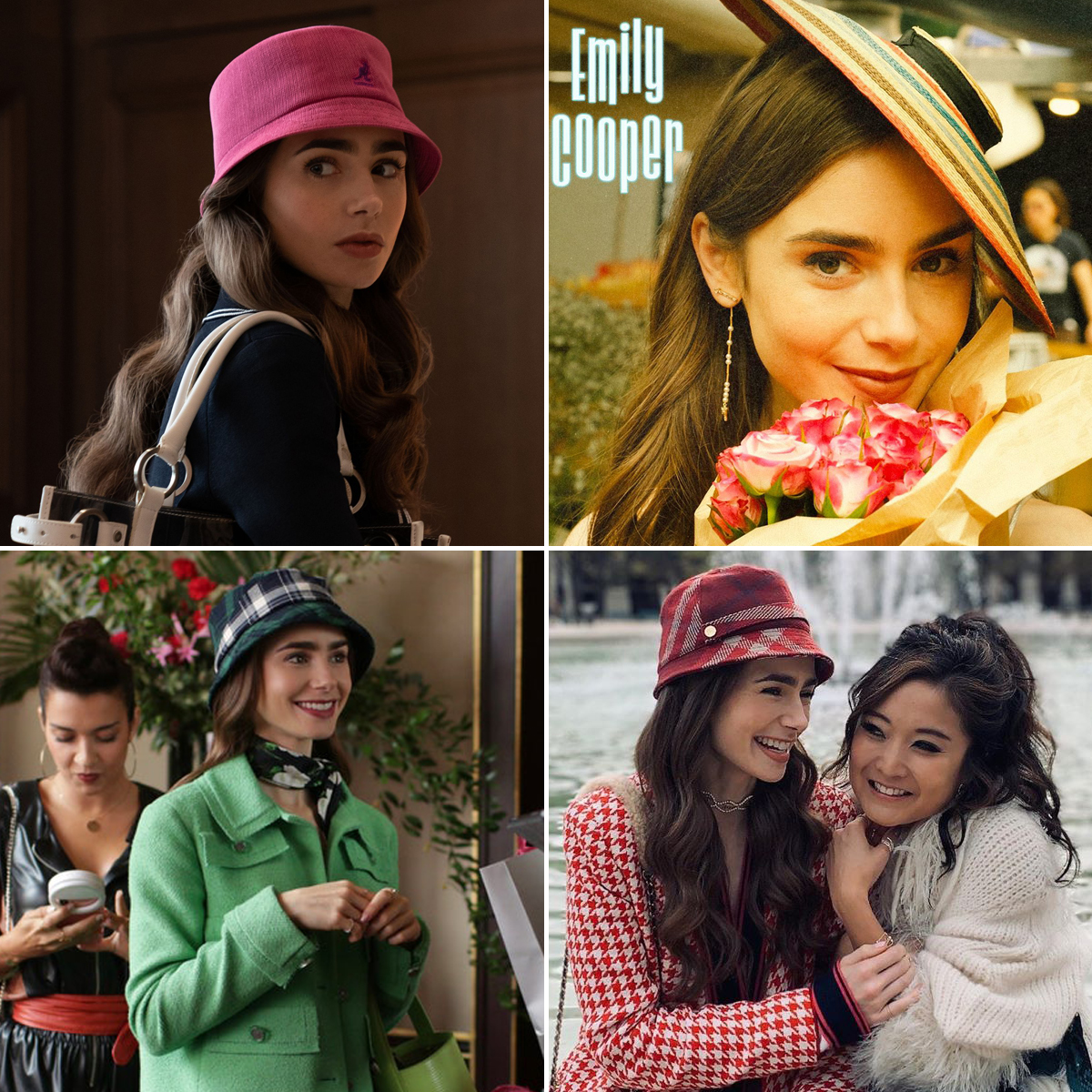 lily collins trong vai diễn emily in paris netflix