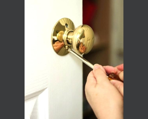 Change the Doorknobs