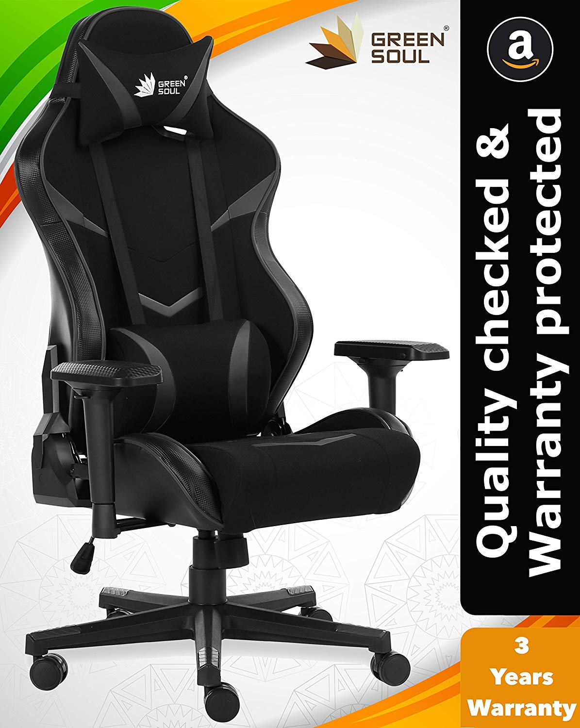 GreenSoul Monster Series Gaming/Ergonomic Chair