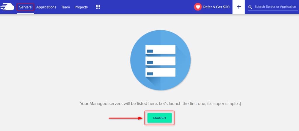 Server Launching Process
