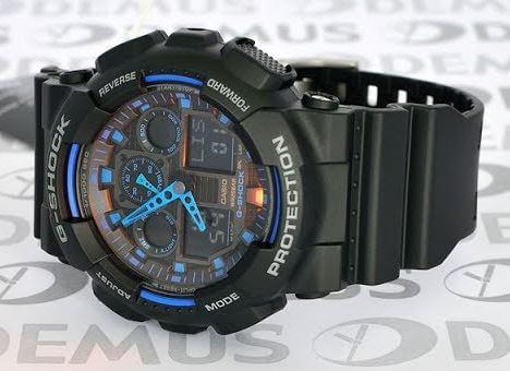 Đồng hồ casio g-shock ga-100-1a2 là Mẫu tiêu biểu của dòng Casio G – Shock