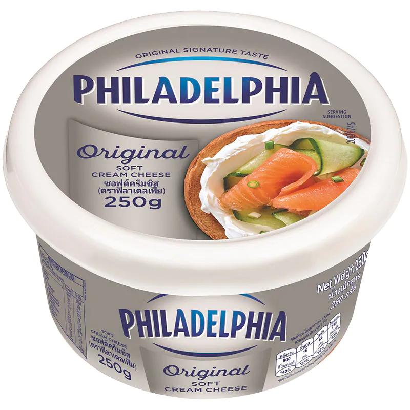 4. Philadelphia Tub Soft Cream Cheese 250g. ราคา 179 บาท