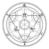Image result for edward elric alchemy circle