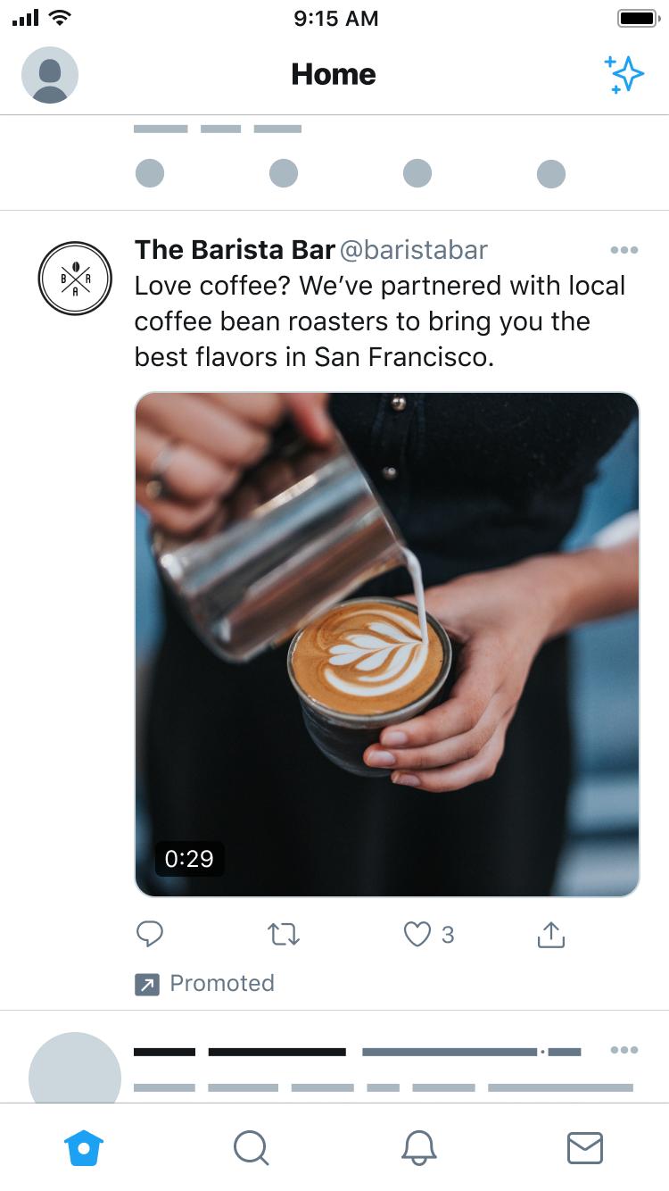 anuncio promocionado twitter