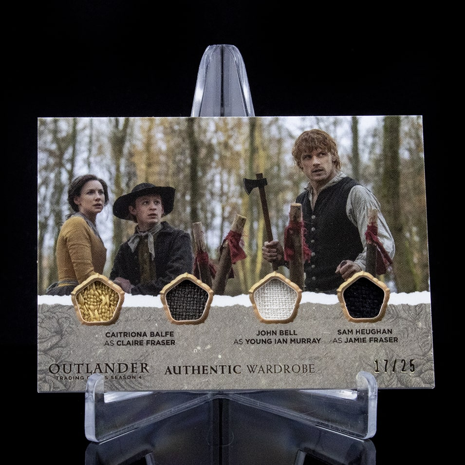 Outlander Trading Cards Season 4: Wardrobe Card