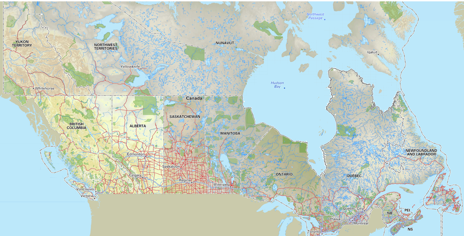 BRMB Blog - Backroad Mapbooks Canada Maps Now Available for