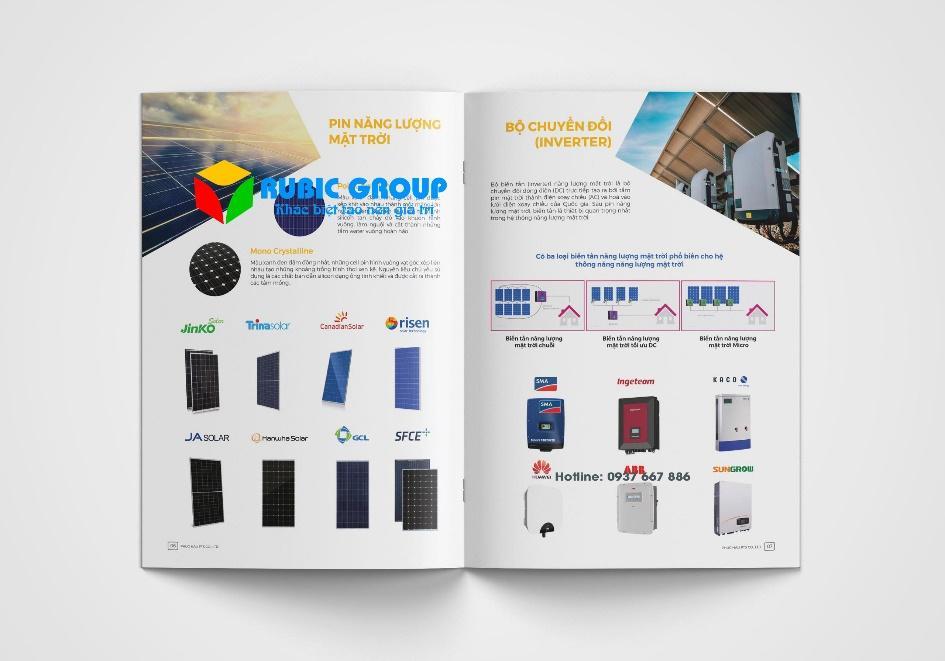 Mẫu catalogue giúp đưa các thông tin sản phẩm gần nhất tới khách hàng