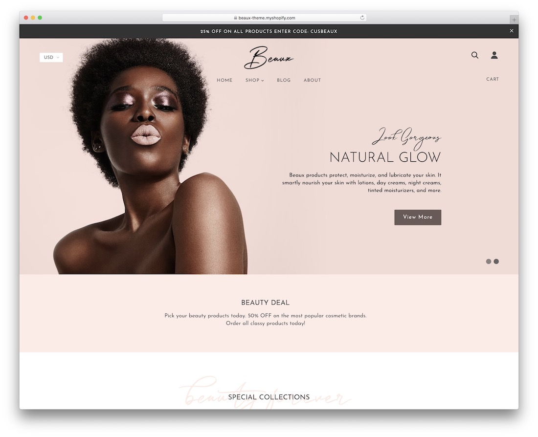 Shopify jewelry themes Beaux