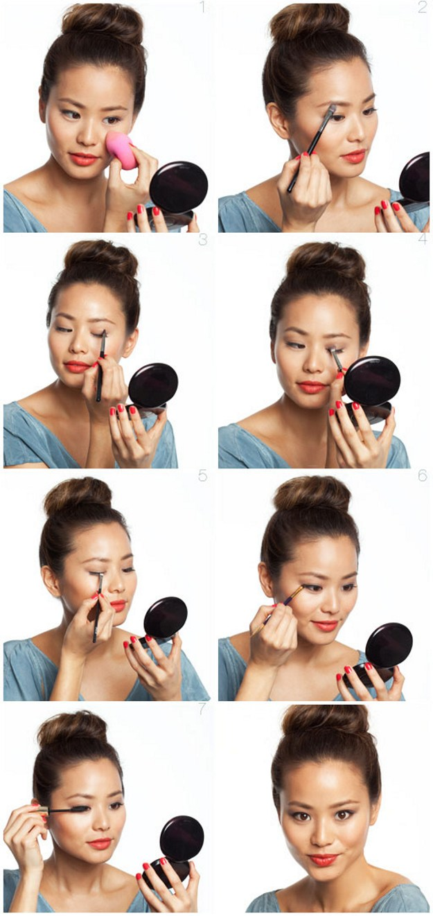 How to Do Makeup for Asians with Dark Skin | Graduation Makeup Tutorials by Makeup Tutorials by http://www.makeuptutorials.com/makeup-tutorials-graduation-beauty-ideas
