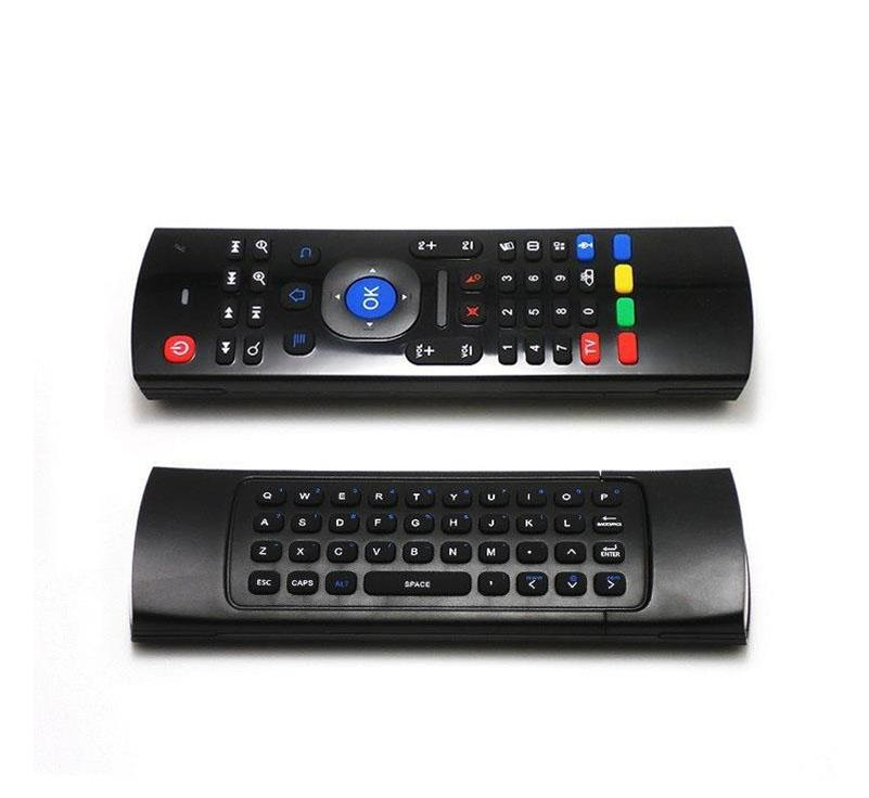 Keyboard Clavier Fly AirMouse Mini TélécommandeSouris sans fil G Sensor Capteur MIC MXQ M8S Android TV BOX www.avalonkef.com 64646.jpg