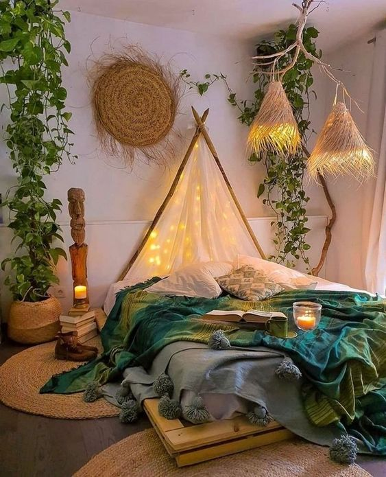 Bedroom Makeover Ideas With Pallet Bed