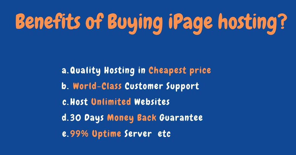 ipage benefits