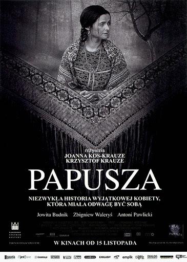 Przód ulotki filmu 'Papusza'