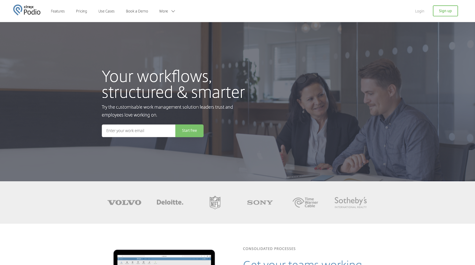Podio - Your workflows, structured & smarter