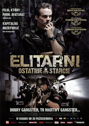 Przód ulotki filmu 'Elitarni - Ostatnie Starcie'