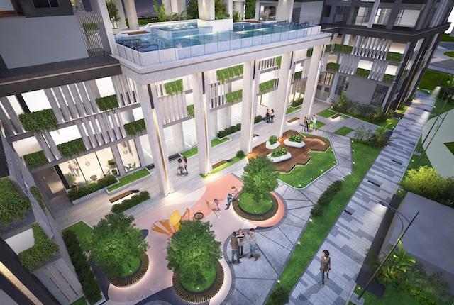 Mặt bằng dự án C River View có đa dạng loại hình căn hộ