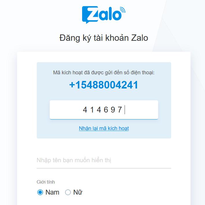 Hướng dẫn cách nhắn tin, gọi điện zalo web trên điện thoại