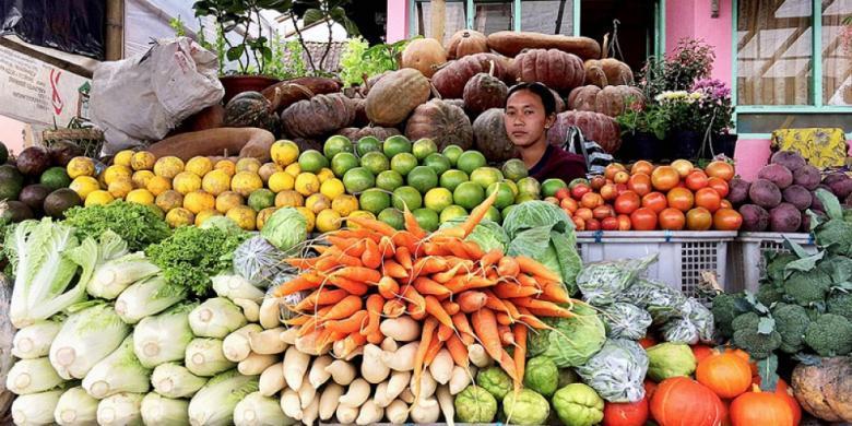 3. Cara Memilih Sayuran Segar - Belanja di Pasar Petani