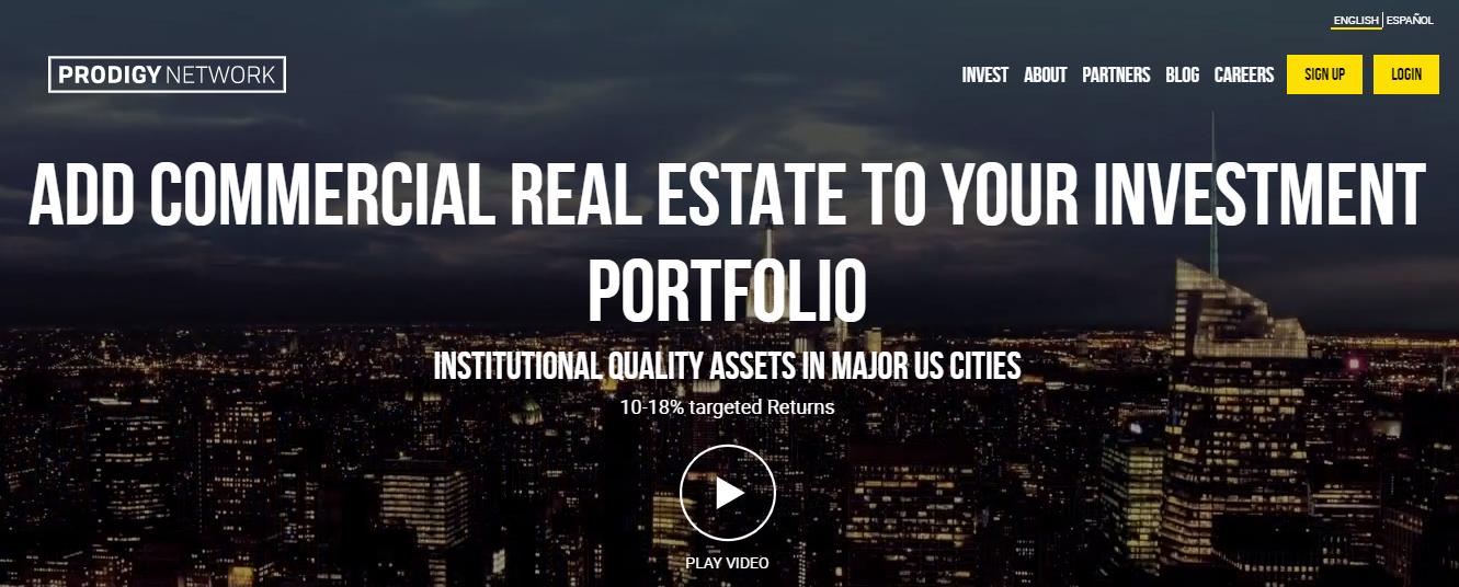 Prodigy Network - real estate crowdfunding platform