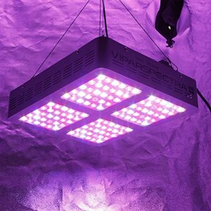 VIPARSPECTRA Reflector Series 600W LED Grow Light Full Spectrum for Indoor Plants Veg and Flower