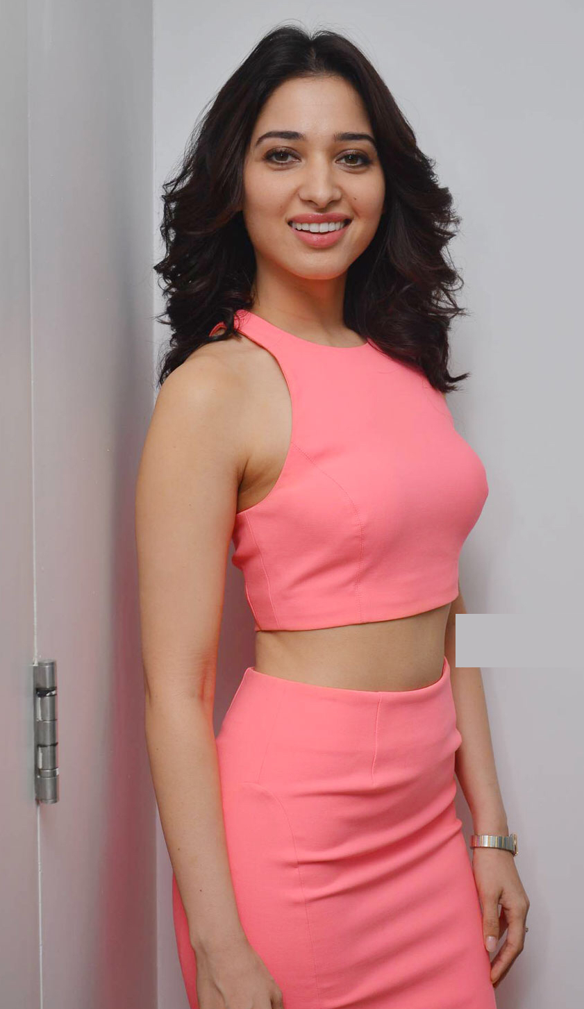 Tamannah Bhatia looking sexy in pink
